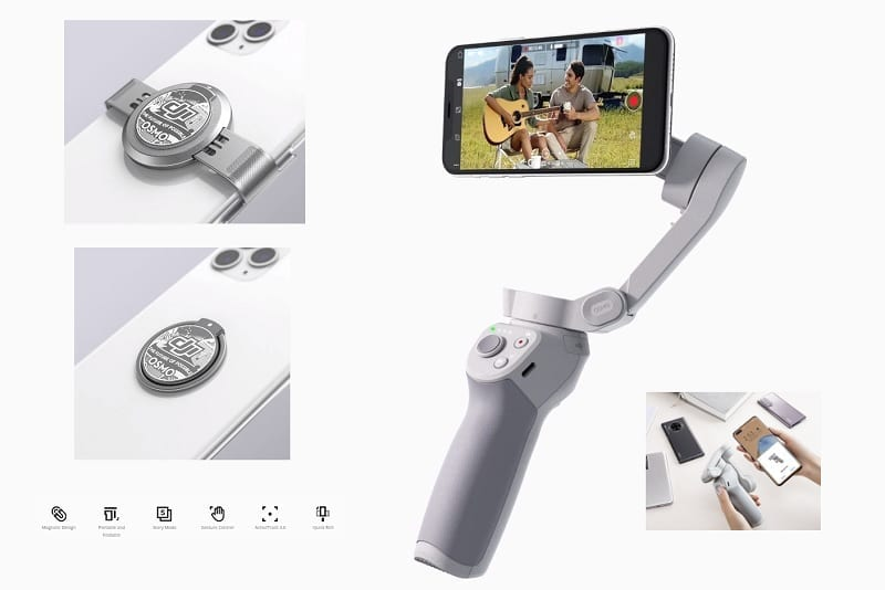 DJI Osmo Mobile 4 Launched