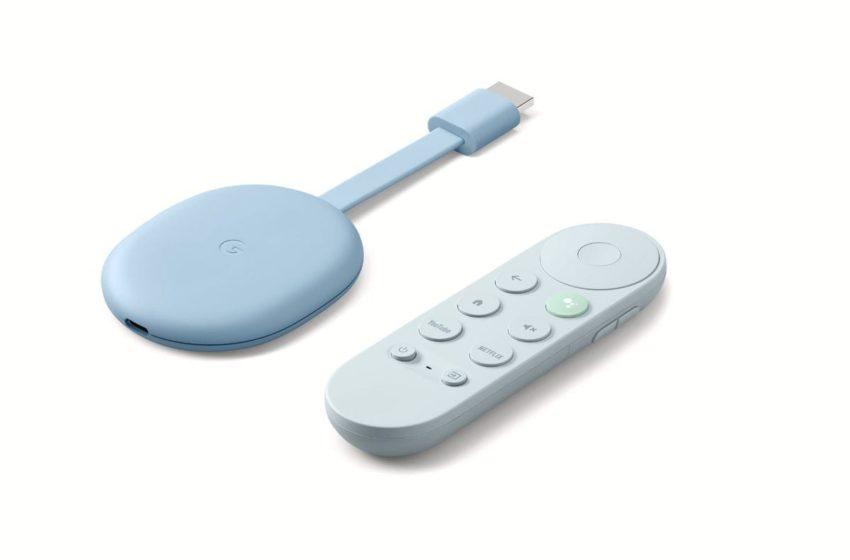 Latest Chromecast with Google TV  for 70€