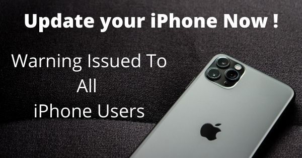 Update your iPhone Now to iOS 14.4.2, Warning Issued To All iPhone Users